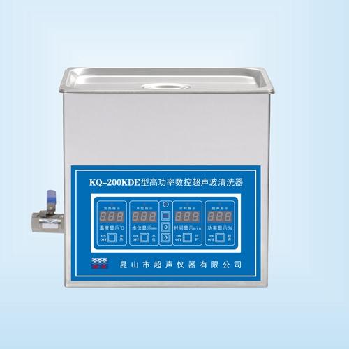 昆山舒美KQ-200KDE高功率超声波清洗机