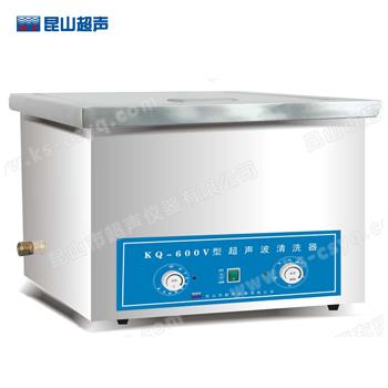 昆山舒美KQ-600V台式超声波清洗器