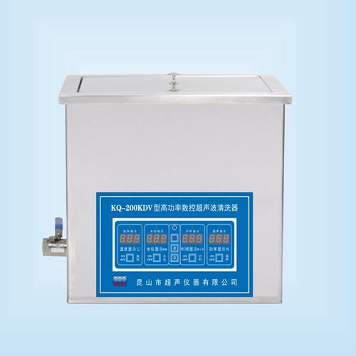 昆山舒美KQ-200KDV高功率超声波清洗机